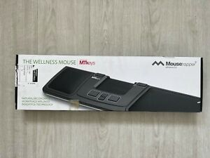 Mousetrapper advanced 2.0 - ergonomic mouse with programmable 6 buttons - black