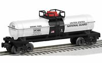 LIONEL 6-39388 US NATIONAL GUARD TANK CAR TANKER MADE IN USA MIB