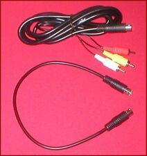Audio Video AV Cable & 32X Data Link Mixing Cable for Sega Genesis 2 System NEW
