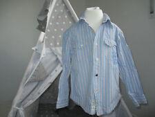 ✰ Hemd S. OLIVER Gr. 104, 110✰ Streifen,hellblau, rot, Junge, Langarm, klassisch