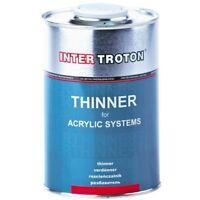 ACRYL VERDÜNNER 1L THINNER  ACRYLIC SYSTEMS ACRYLVERDÜNNER INTER TROTON