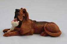Bluthund figur tierfigur hund figur hundefigur bloodhound basset,l