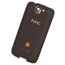 Funda Trasera Batería para HTC Desire G7 marrón negruzco Pieza Original