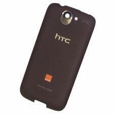 PILA CARCASA TRASERA PARA HTC Desire G7 negruzco Marrón Pieza Original