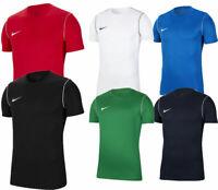 Nike Boys T Shirts Park 20 Kids Short Sleeve Shirt Training Top Football TShirt