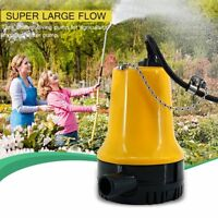 Electric Submersible Agricultural Immersible Pump Under Water Pump DC 12V 50W US