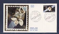 enveloppe 1er jour   espace  TELECOM 1   Paris     1984