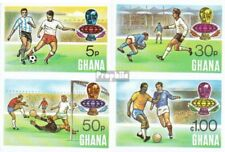 Ghana 564B-567B (complete.issue.) unmounted mint / never hinged 1974 Football