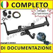 Gancio di traino fisso Renault Kangoo 1997-2007 + kit elettrico 7-poli Rimorchio