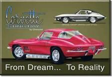 Corvette Stingray 1967 USA Magnet Magnetschild