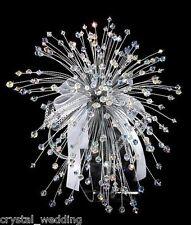 Crystal Wedding Bouquet & buttonhole  - large size