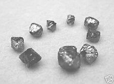 6.11 Carat 9 Rare RAW Loose ROUGH DIAMONDS OCTAHEDRONS BEADS SEEN ONLY AAADT