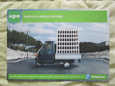 OPUSCOLO CAMION PIAGGIO – Ape Porta più di quello che pesa – Anni '90