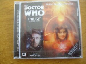 Doctor Who The Toy, 2016 Big Finish Short Trips audio book CD *SEALED, RARE*
