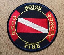 ID Bosie Idaho Dive/Rescue Fire Patch Patch