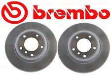 NEW BMW  323Ci 325Ci Z3 Set of 2 Front Disc Brake Rotors Brembo 34111164539BR