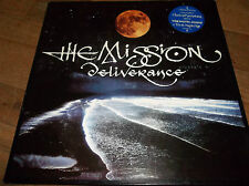 "The Mission Deliverance 12"" UNPLAYED + Poster Remix (Sisters Of Mercy related)"