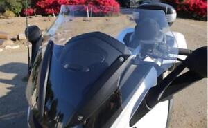 "BMW K1600GT/K1600GTL 2011-UP 25"" TALL, LIGHT GRAY Design ""B""  WINDSHIELD"