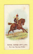 MILITARY  -  WILLS  FLAG  -  ROYAL  HORSE  ARTILLERY  CARD  -  1912