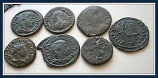 Ancient Roman Emperors bronze unidentified coins.