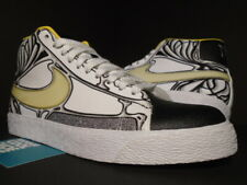 2010 NIKE DUNK SB BLAZER HIGH PREMIUM WHITE BLACK YELLOW SUPREME 316397-111 9
