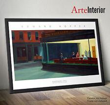 Edward Hopper NIGHTHAWKS (Nottambuli) Stampa FINE ART Poster ad Alta Risoluzione