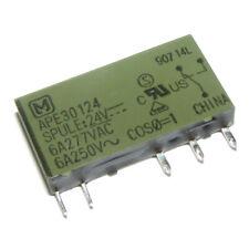 APE30124 Coil 24VDC 1 Form C Slim Power Relay Matsushita