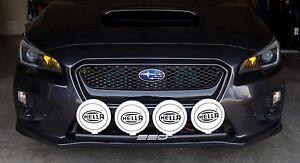 Fits 2015 Subaru WRX / STI RALLY LIGHT BAR, (Bull, Nudge Bar), 4 Light Tabs, SSD