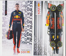 2018 NEW ! Max Verstappen F1 Red Bull Racing Card Promo Postcard Netherlands #33