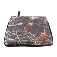Waterproof Chair Seat Cushion Pad Outdoor Picnic Camping Soft Stool Mat Camo