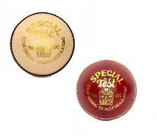 NEW Special Test Leather Cricket Ball Alum Tanned Water Resistant Pack Of 2
