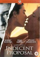 INDECENT PROPOSAL 2002 Robert Redford Demi Moore BRAND NEW AND SEALED UK R2 DVD