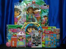 Dora The Explorer Party Set # 23  Cups Plates Napkins Tablecover Balloon Sticker