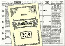 Gwydion's Moon Diary 2019 The Witches Favourite! A5 Pagan Wiccan Druid Witch