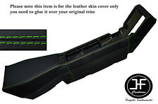 GREEN STITCHING CENTER CONSOLE LEATHER SKIN COVER FITS RENAULT ALPINE GTA V6