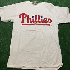 Vintage Philadelphia Phillies Logo 7 T Shirt Size Medium