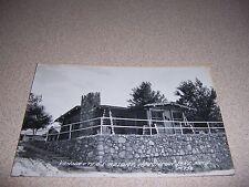 1940s VANNATTER'S RESORT HOUGHTON LAKE MICHIGAN REAL-PHOTO RPPC POSTCARD