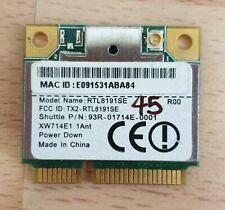 SHUTTLE  93R-01714E-0001, REALTEK RTL8191SE 802.11B/G/N 2.4GHZ WLAN WIFI CARD