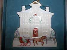 Lenox Victorian Home Collection Sheffield Manor Christmas Ornament