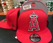 New Era 9Fifty Anaheim Angels Pieced Team Strapback Team Color STRAPBACK STRAP