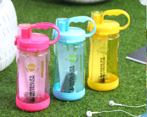 Herbalife 1000ml Large Water Bottle 32oz Space Sports Straw Cup Bottle W/Strap