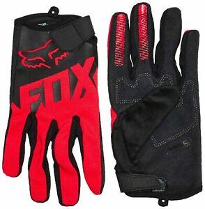Fox Racing 2020 Ranger Gloves Mountain Bike BMX MTX MTB Gloves Black/Red