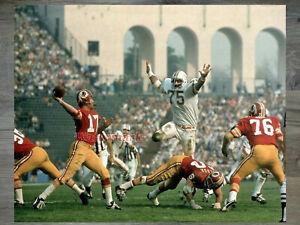 NFL 1973 Super Bowl Washington Redskins QB Billy Kilmer Color 8 X 10 Photo Pic