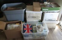 Worldwide Stamps lot.  Mixed lot of 200 different used / unused off paper stamps
