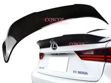 Carbon Fiber Lexus 14~18 IS IS200t IS250 IS300 sedan TRD type trunk spoiler @US
