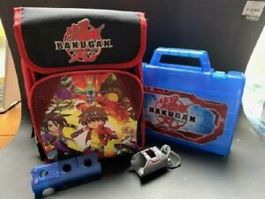 Bakugan lunch box, never used with carrying case and holders