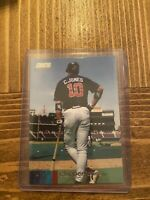 2020 Topps Stadium Club SSP Chipper Jones Photo Variation Atlanta Braves RARE