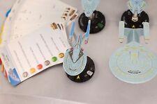 Star Trek Tactics Heroclix NTG Federation Lot - Includes Enterprise-E