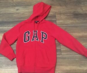 GAP Full Zip Red Hoodie Size XL Excellent Condition Youth Size XL