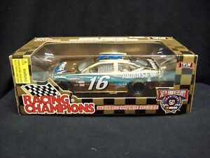 Racing Champions Nascar Gold Primestar Ted Musgrave 1:24 Scale Limited Edition.
